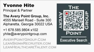 Yvonne Hite - Lean Recruiter - Six Sigma Recruiter