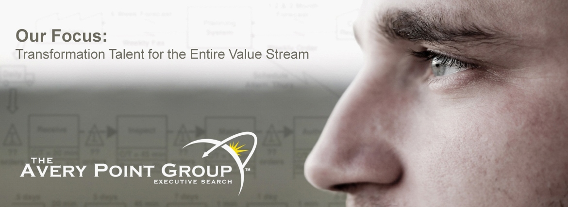 Transformation Talent for the Entire Value Stream - Lean & Six Sigma Recruiters